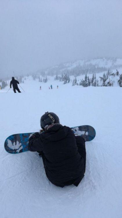 Snowboardfahren in Kanada ist nochmal ein ganz anderes Gefühl!