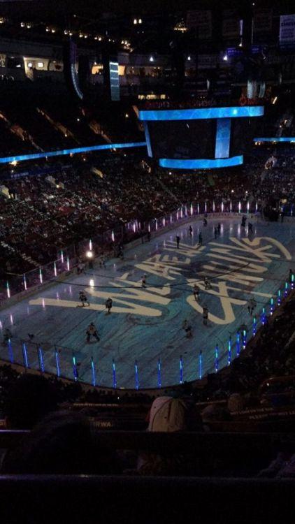 In der Rogers Arena in Vancouver kann man die Heimspiele der Vancouver Canucks anschauen.