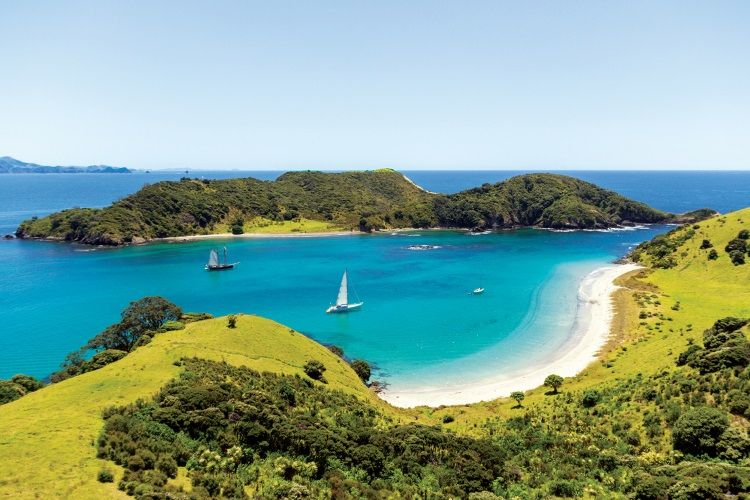 Die Bay of Islands im Norden