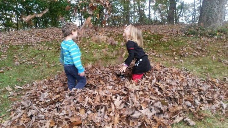 Blätterwerfen