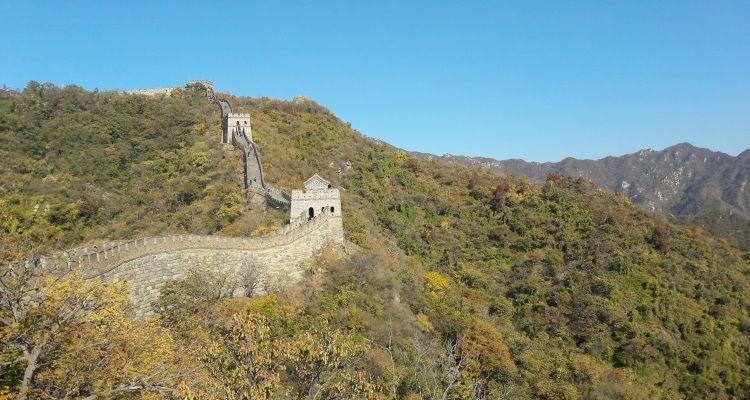 Zu Besuch an der Chinesischen Mauer