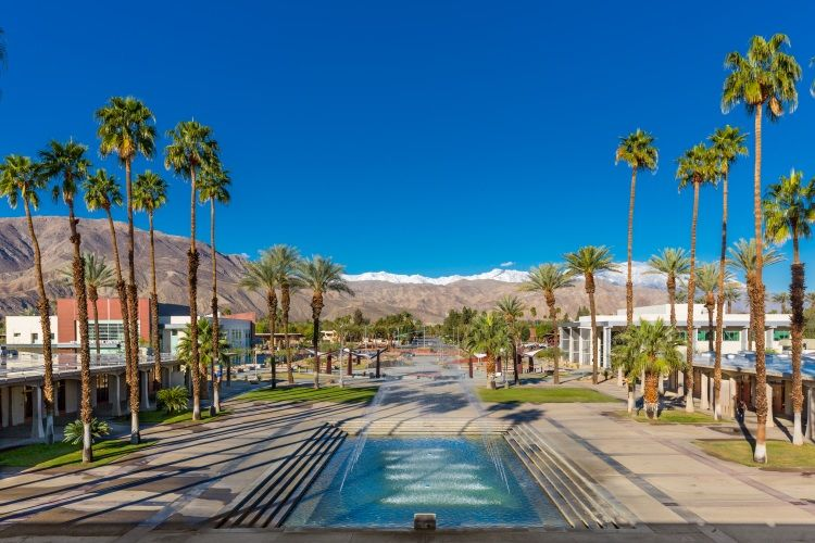 College of the Desert in Palm Springs