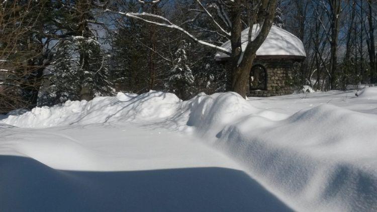 Connecticut im Schnee