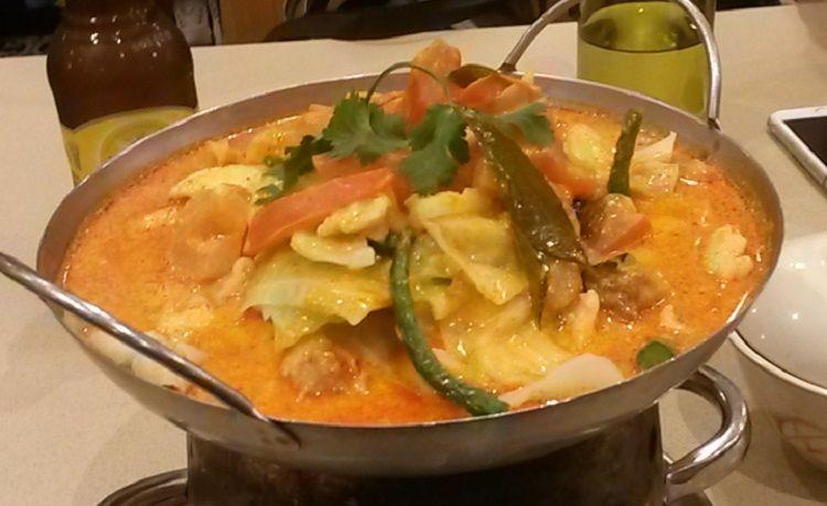 Malaysisches Fisch Curry schmeckt auch in Australien