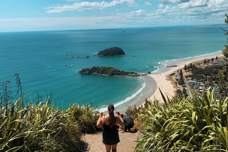 Gianna am Mount Maunganui