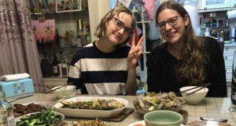 Tatjana zu Besuch bei Lorena und ihrer Au Pair Familie