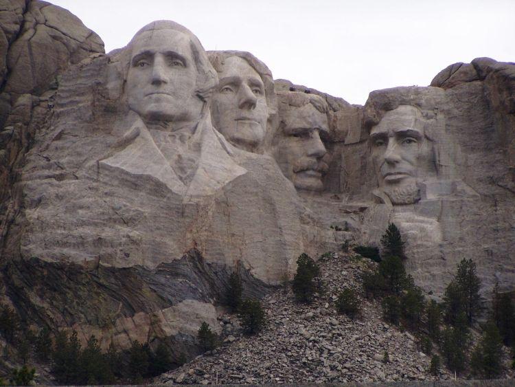 Mount Rushmore - Präsidenten