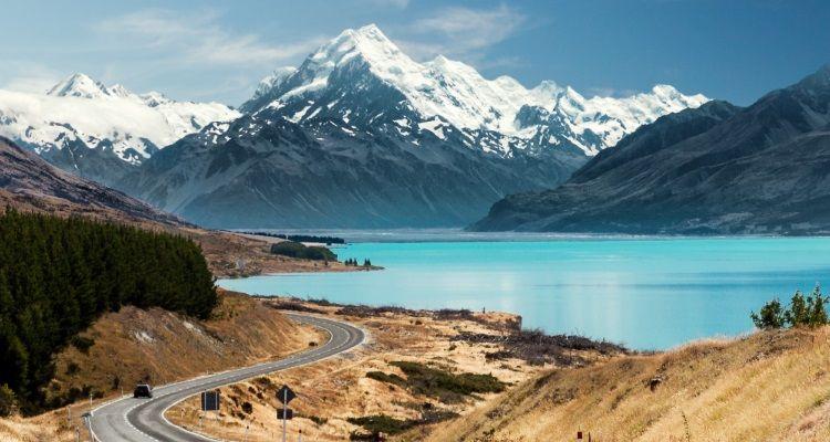 Mount Cook am Lake Pukaki