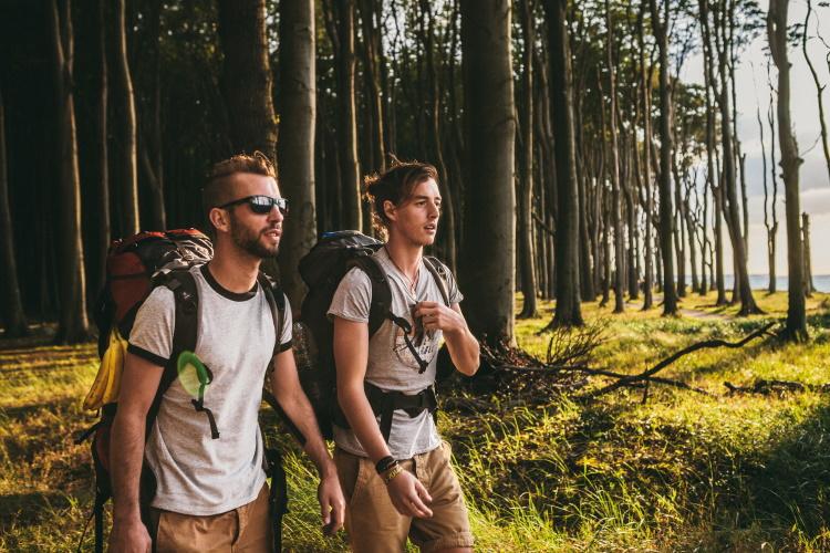 Reisen mit Backpack