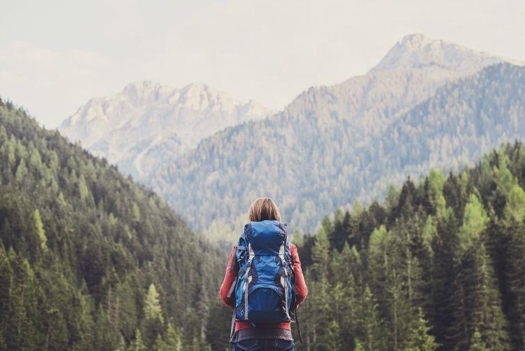 Reisen in der Natur