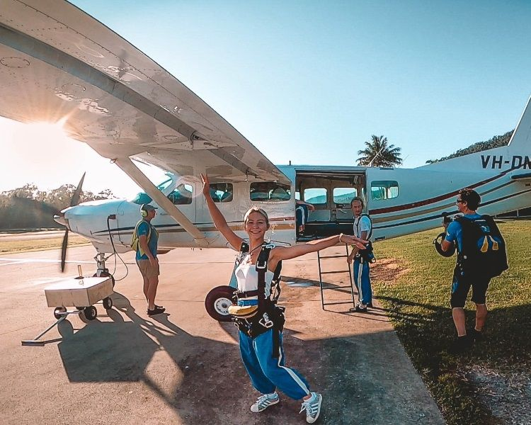 Skydiving über den Whitsunday Islands
