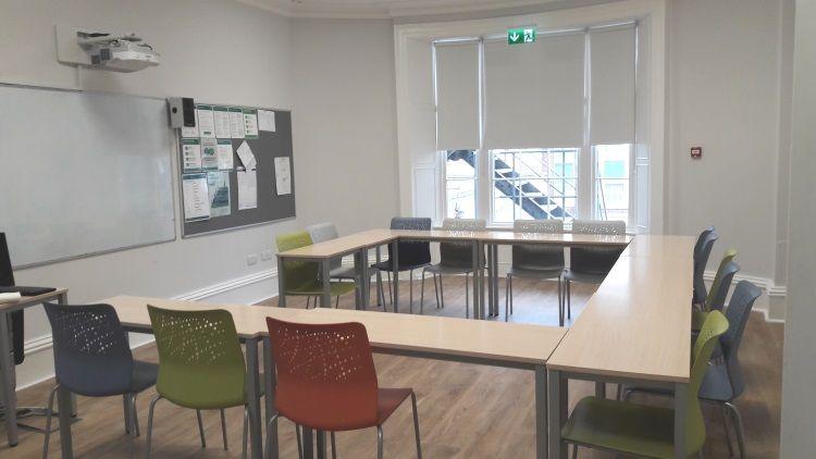 Sprachschule Klassenzimmer