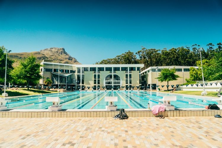 Poolanlage der Stellenbosch University