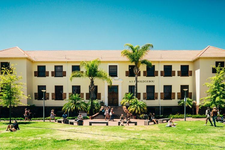 Unigebäude der Stellenbosch University