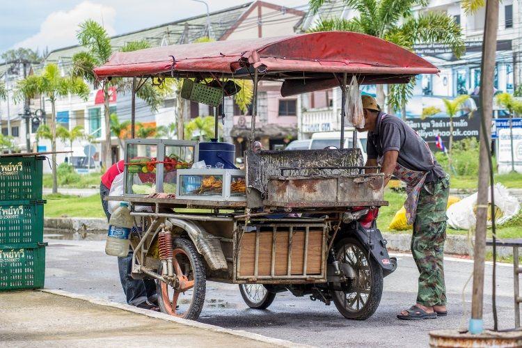 Essensstand Thailand