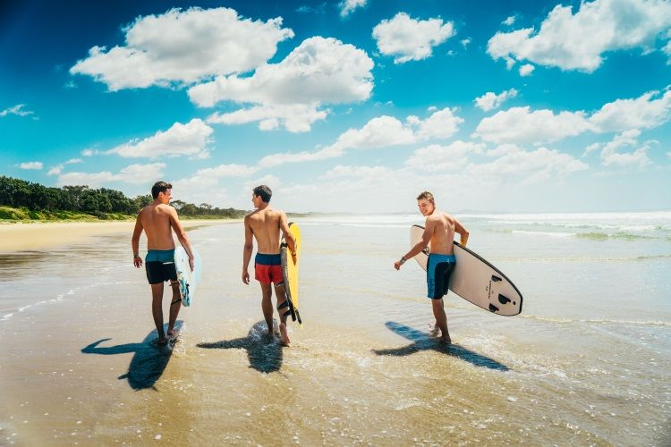 Surfcamp in Australien