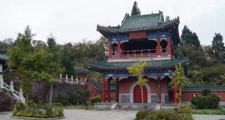 Tempel in Zhangjiajie