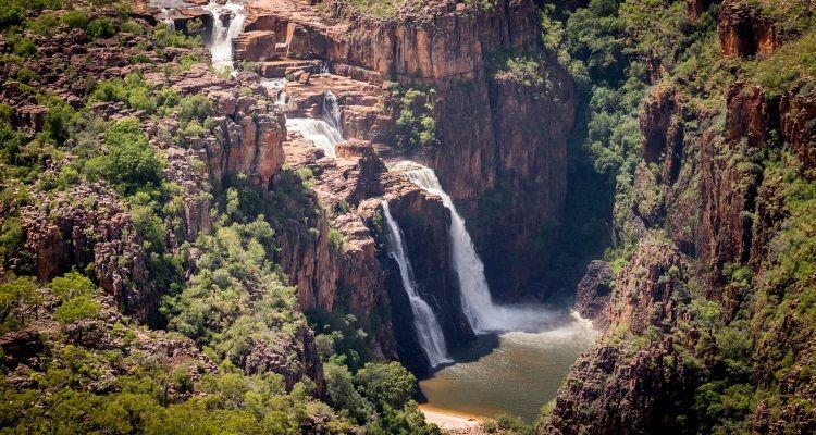 Twin Falls im Kakadu National Park
