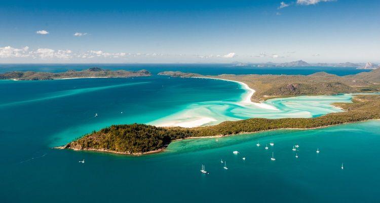 Segeltrip durch die Whitsunday Islands