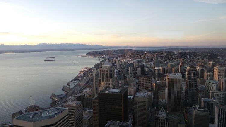 Zeitweise Nachbarstadt Seattle