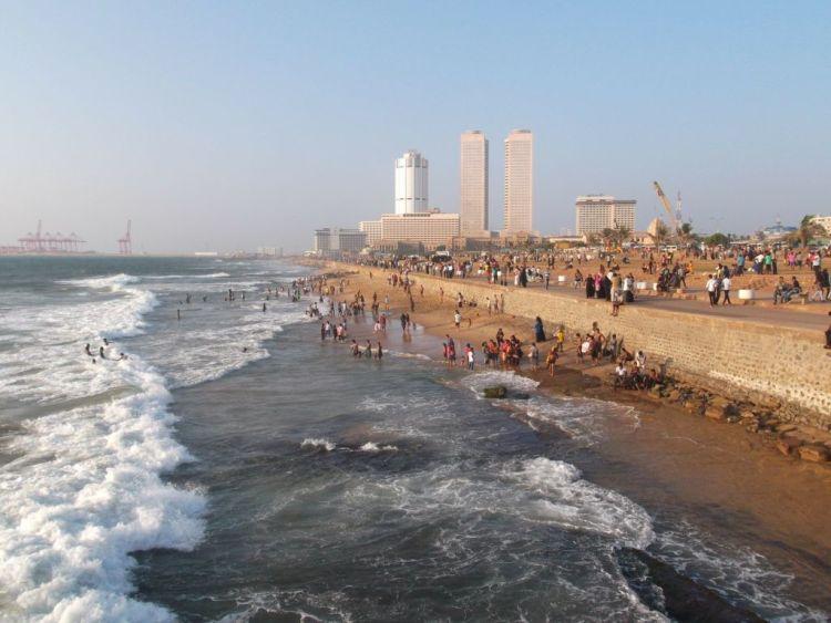 Strand in Colombo