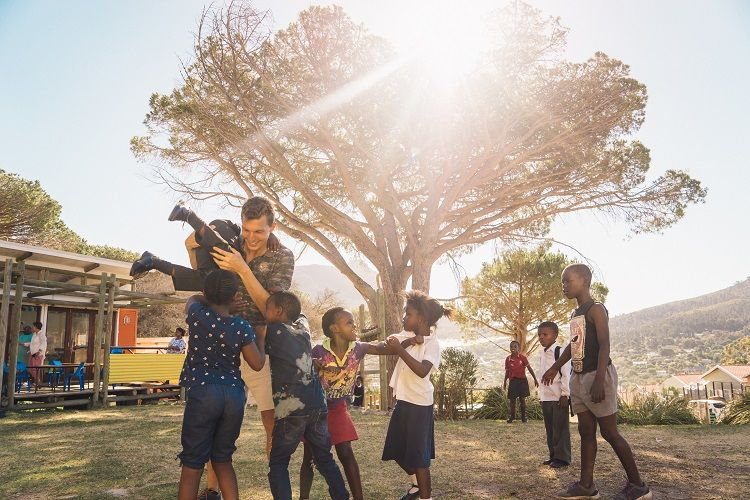 Als Volunteer z.B. nach Afrika