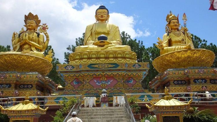 Stupa Nepal Tempelanlage